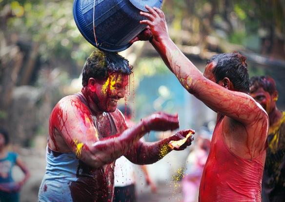 Holi Festival Jaipur (Photo credits: Zosogis, internet)